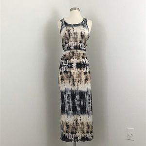 Monteau NWT Tie Dye Maxi Dress Small